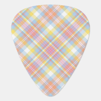 Pastel Stripe Plaid Plectrum