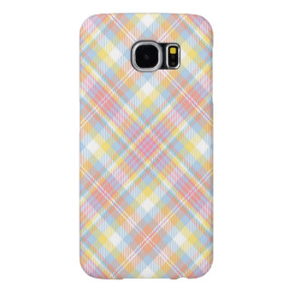 Pastel Stripe Plaid Samsung Galaxy S6 Cases