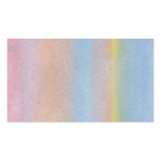 Pastel Stripes. Double-Sided Standard Business Cards (Pack Of 100)