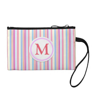 Pastel Stripes Coin Purse
