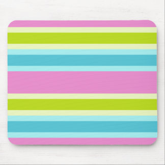 Pastel Stripes mousepad, customize Mouse Mat