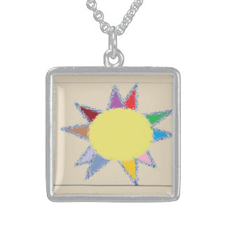 Pastel Sun Pendant