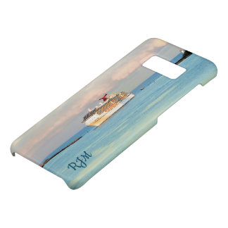 Pastel Sunrise with Cruise Ship Case-Mate Samsung Galaxy S8 Case