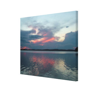 Pastel Sunset custom canvas print