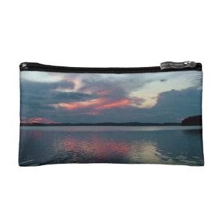 Pastel Sunset custom cosmetics / accessories bag
