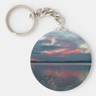 Pastel Sunset custom key chain