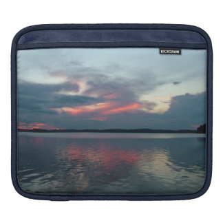 Pastel Sunset custom laptop / iPad sleeve