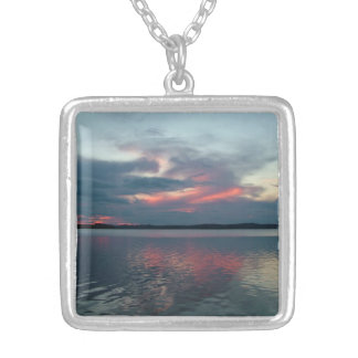 Pastel Sunset custom necklace