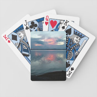 Pastel Sunset custom playing cards