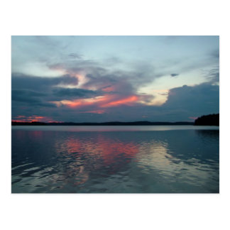 Pastel Sunset custom postcard