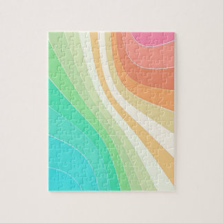 Pastel Swirls Jigsaw Puzzle