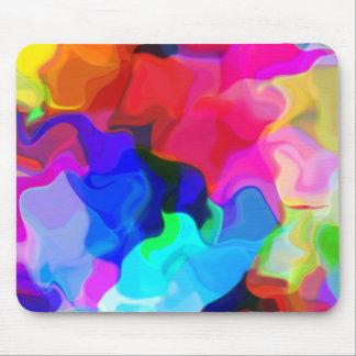 Pastel Swirls Mouse Pad