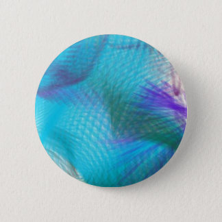 Pastel Teal Blue Violet Sweet Dream Abstract 6 Cm Round Badge