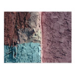 pastel texture post card
