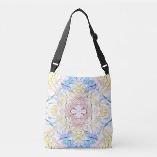 Pastel Tie-dye Batik Abstract Tribal Pattern Tote Bag