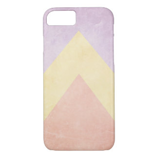Pastel triangle pattern iPhone 8/7 case