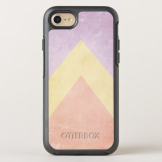Pastel triangle pattern OtterBox symmetry iPhone 8/7 case