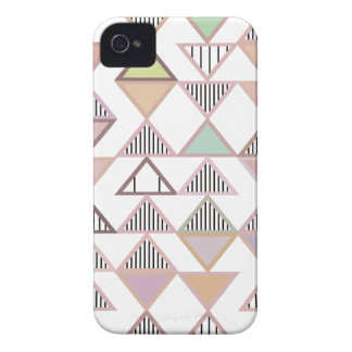 Pastel Triangles Pattern iPhone 4/4S Case-Mate