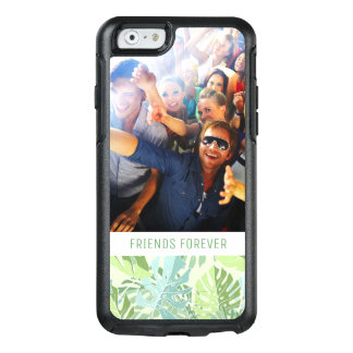 Pastel Tropical Palm | Add Your Photo & Text OtterBox iPhone 6/6s Case