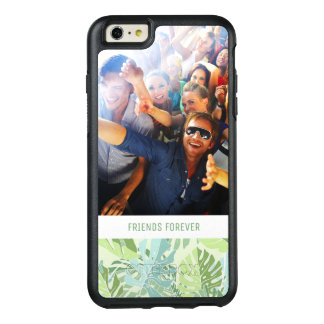 Pastel Tropical Palm | Add Your Photo & Text OtterBox iPhone 6/6s Plus Case