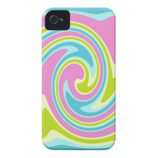 Pastel Twirl iPhone 4 Case-Mate