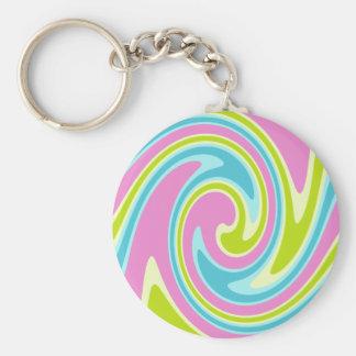 Pastel Twirl key chain