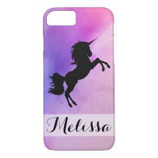 Pastel Unicorn Design Iphone Case