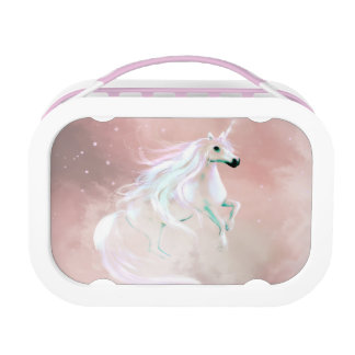 Pastel unicorn lunch box