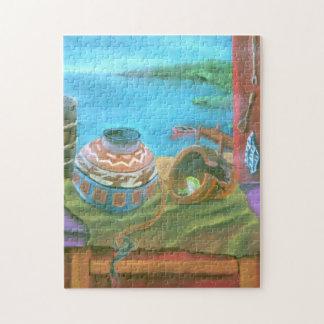 Pastel Vase Jigsaw Puzzle