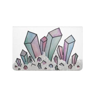 Pastel Watercolor Crystal Cluster Journal