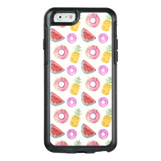 Pastel Watercolor Pool Float Pattern OtterBox iPhone 6/6s Case