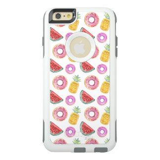 Pastel Watercolor Pool Float Pattern OtterBox iPhone 6/6s Plus Case