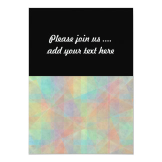 Pastel Watercolor Shapes Abstract Art 13 Cm X 18 Cm Invitation Card