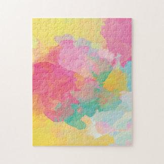 Pastel Watercolors Jigsaw Puzzle