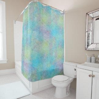 Pastel Watercolors Shower Curtain
