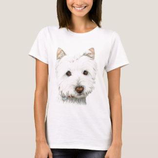 Pastel Westie Dog T-Shirt