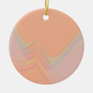 Pastel Wings Christmas Ornament
