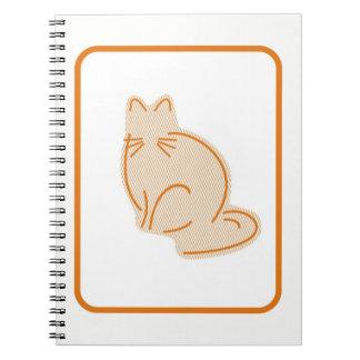 Pastel Zoo Kitten Spiral Notebook