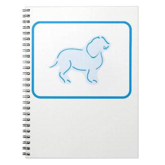 Pastel Zoo Puppy Spiral Notebook