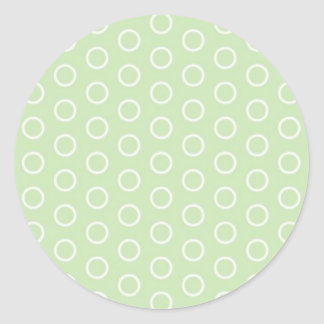 pastele colors dab score polka dots dotted round sticker