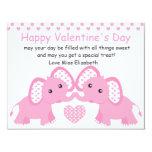 Pastelephants in Pink! Invitation