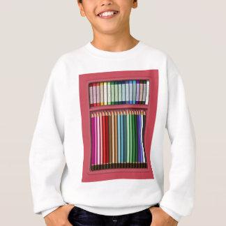 Pastels and pencils sweatshirt