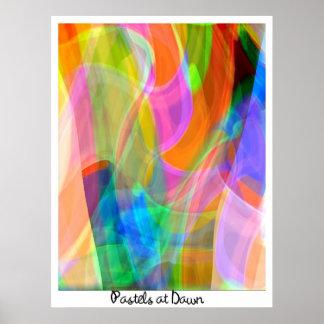 Pastels at Dawn Poster