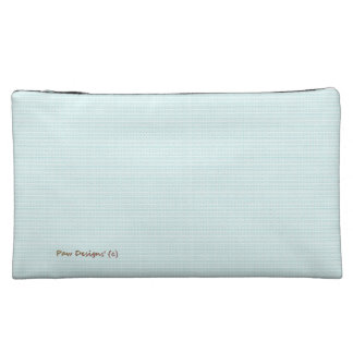 Pastel's_Bird-Egg-Blue_Texture's Fabric_Sueded_Bag Makeup Bag