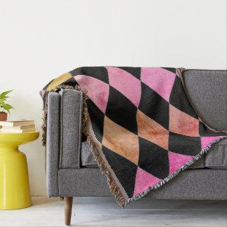 Pastel's-Diamond's-Blanket-Unisex Throw Blanket
