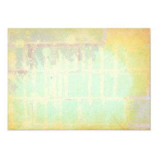 "Pastels invitations 5"" x 7"" invitation card"