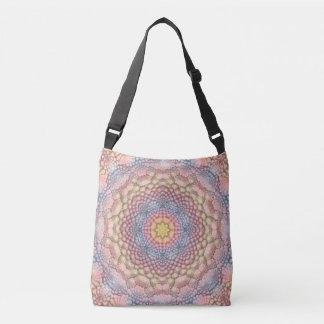 Pastels Vintage Kaleidoscope  Cross Body Bag
