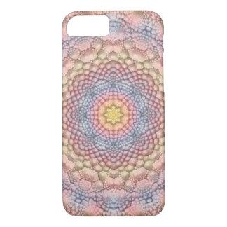 Pastels Vintage Kaleidoscope iPhone Cases