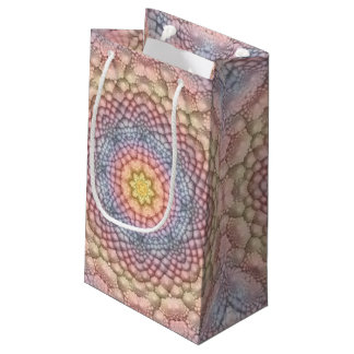 Pastels Vintage Kaleidoscope Small Gift Bag