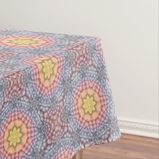 Pastels Vintage Kaleidoscope   Tablecloth